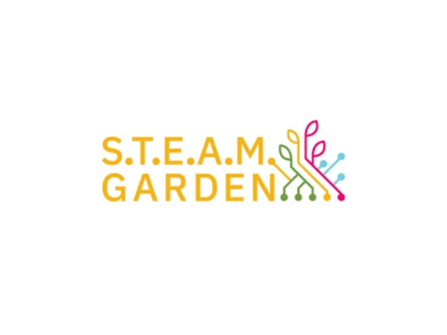 Logo & link to coworking spot STEAM Garden