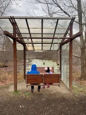 Creative swing at Art Omi