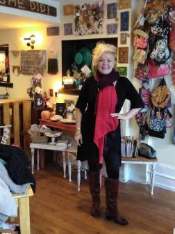 Carrie VanDerhoof, co-owner at Boho Chic Boutique
