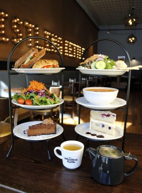 Food and tea at The Whistling Kettle