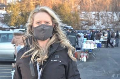 Maura Furvey, site coordinator for Street Soldiers Schenectady