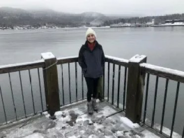 The author at Lake George
