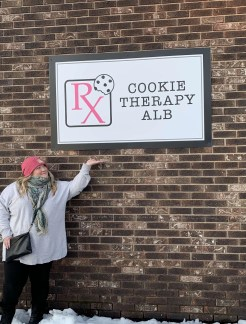 Cookie Therapy sign