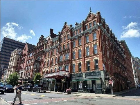 The Kenmore Apartments in Albany, New York