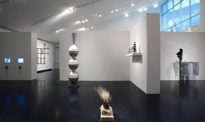 Terry Adkins art exhibit at Tang Museum,  Skidmore College.