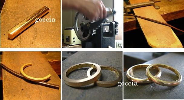 ハンドメイドのジュエリー・結婚指輪