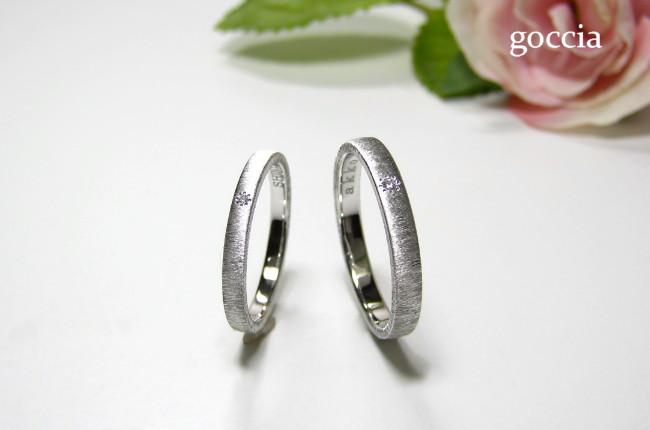 結婚指輪、ダイヤ