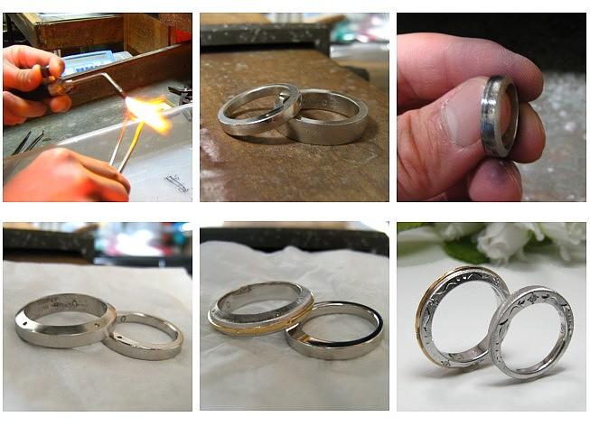 プラチナの結婚指輪・オーダーメイド