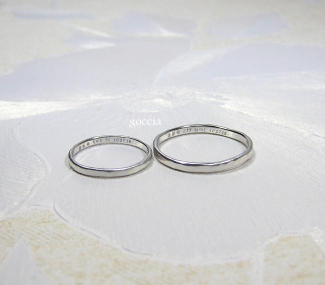 海外からのお客さま・結婚指輪
