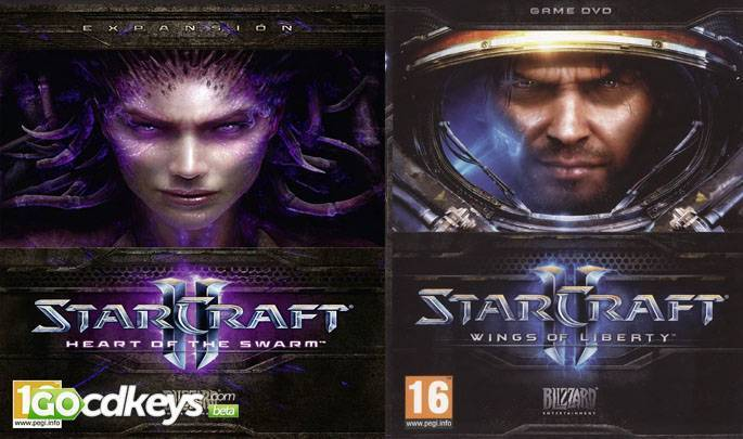 Buy StarCraft 2 Bundle Wings Of Libert Heart Of The