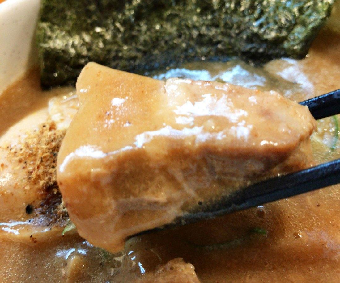 三豊麺 芝公園店 濃厚魚介つけ麺 チャーシュー