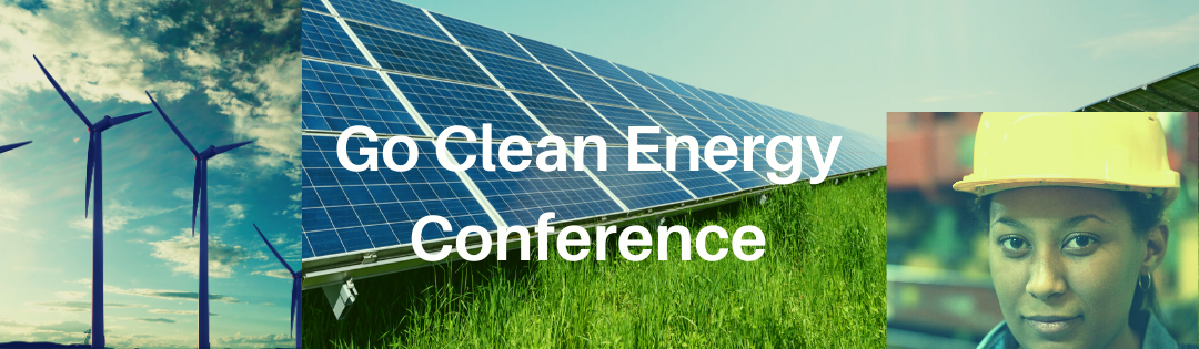2021 Go Clean Energy Conference Banner