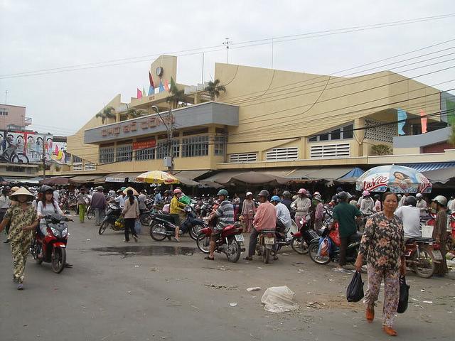 Cho Go Cong 1 Thăng trầm chợ Gò Công