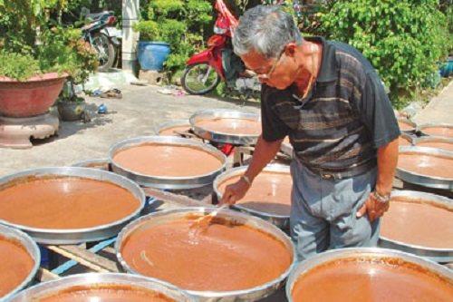 mam 1 Làng nghề mắm tôm chà Gò Công   Đệ nhất mắm Phương Nam