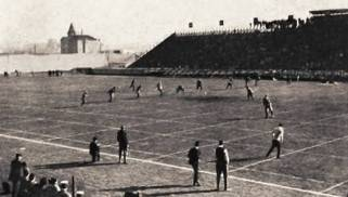 The 1904 Minnesota game Bender refused to play in.