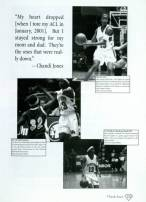 A Chandi Jones page in the Houstonian Yearbook