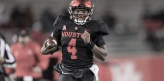 D'Eriq King Running - Tulane Game 2018