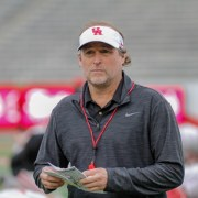 Dana Holgorsen at Friday Night Lights