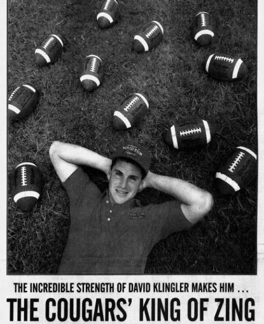 David Klingler 9-1-91 AAS sports cover LaTech