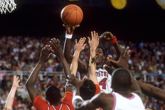 Houston's Akeem Olajuwon