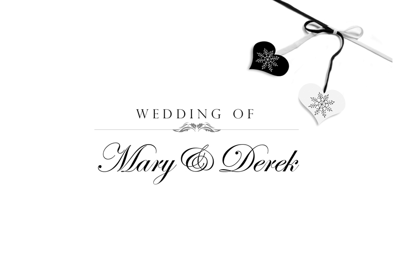 GoCreate Design & Print Dundalk Ireland Wedding Stationary