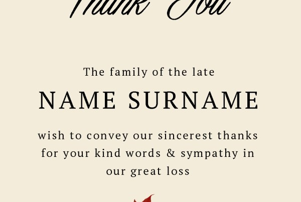 Memorial Cards Dundalk Printing GoCreate Thank You Religious Printers Ireland Louth