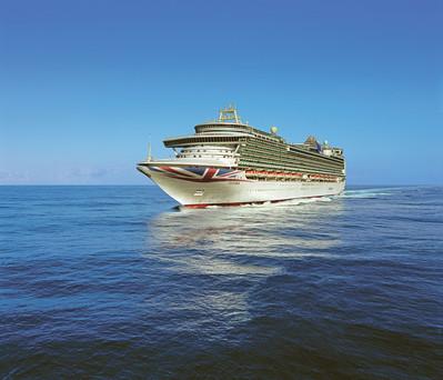 Ventura at sea