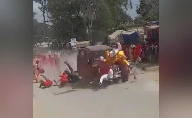 BJP Corners Chief Minister After SUV Mows Down Devotees In ChhattisgarhNo ratings yet.