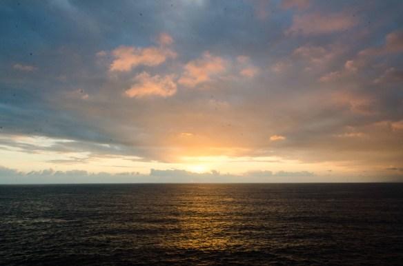 Sunset from the Sinfonia de Mar