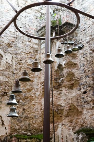 Bells in Wedding Chapel at La Casa de Santo Domingo