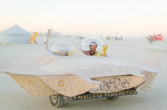 Manta Ray Art Car