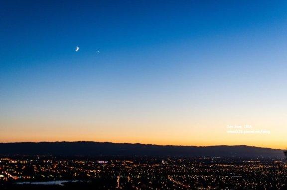 Sunset Over San Jose