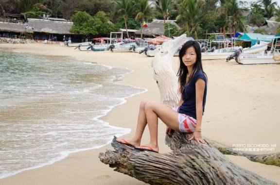 Hanging Out on Playa Manzanillo