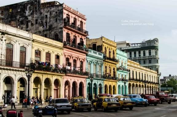 El Paseo de Martí, Havana, Cuba