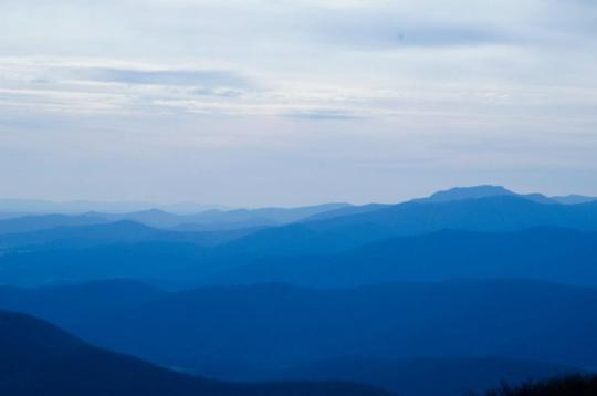 The Blue Mountains of Shenandoah