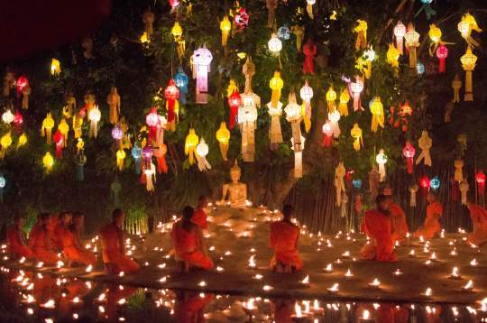 New Year's Eve in Chiang Mai, Thailand