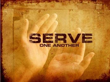 Serve One Another with Two Hands