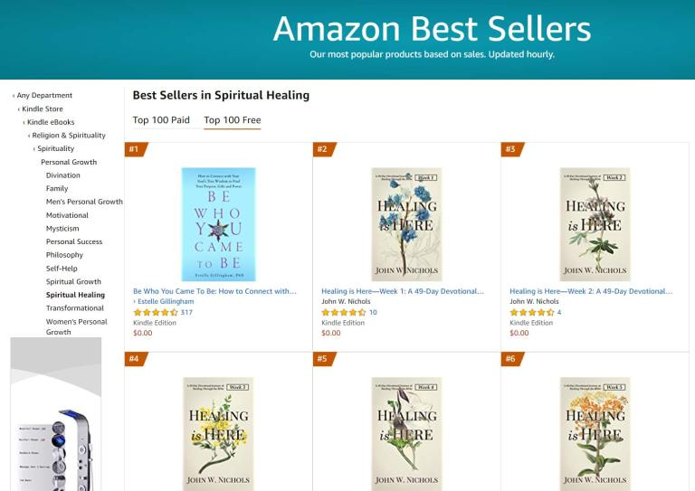 Top 2 Amazon Best Seller in Spiritual Healing Free Category
