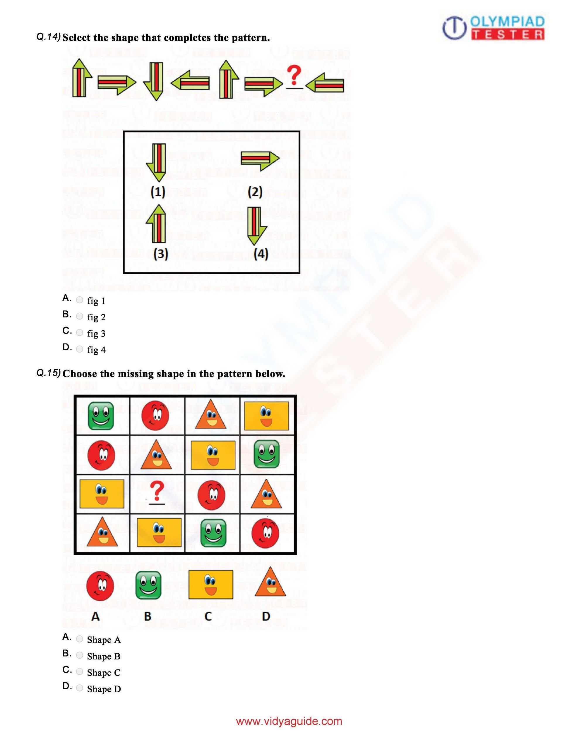 Reasoning Worksheets For Grade 1