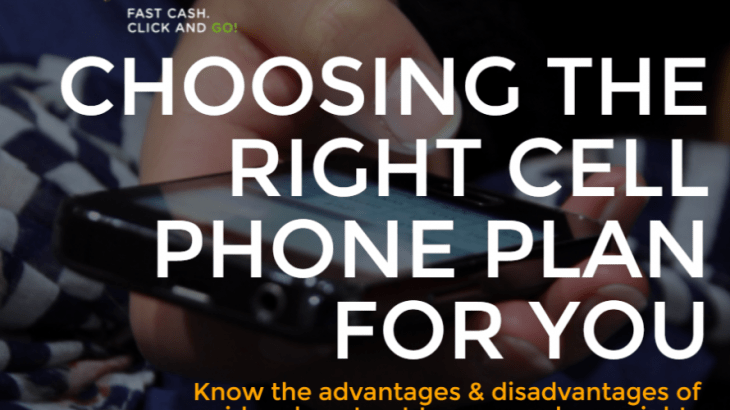 Choosing the right cell phone plan