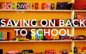 Saving On Back To School