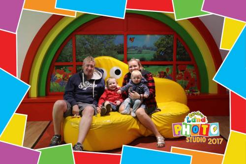 Godbers at Cbeebies Alton Towers