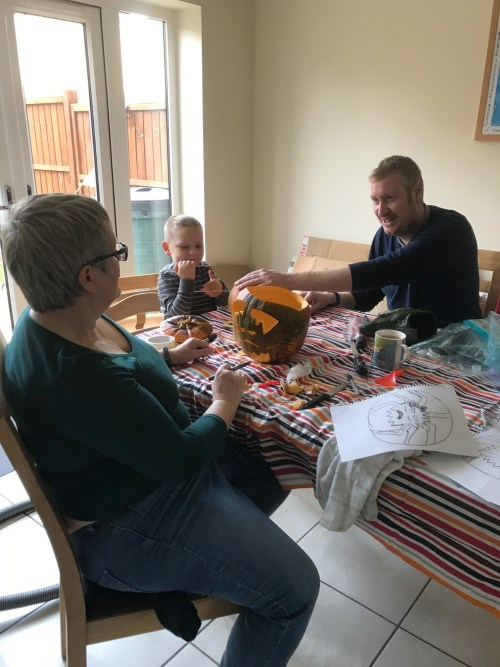 Pumpkin Carving, Godberboys, godberstravel, family time