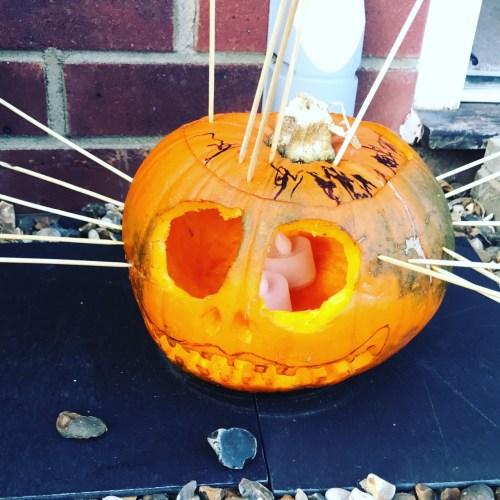 pumpkin carving, scary face, pumpkin, godberstravel, godberboys, pumpkin carving