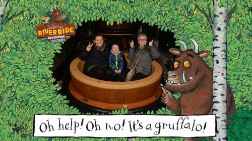 godberstravel, bilbo, harrison, The Gruffalo River Ride Adventure, theme park, Chessington World of Adventures, merlin pass, merlin passes, The Gruffalo, The Gruffalo Ride,