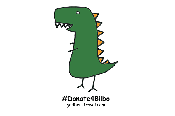 godberstravel, #Donate4Bilbo, Bilbo, childhoodcancer, cancer, leukemia, CLICSargent, giveblood, gofundme
