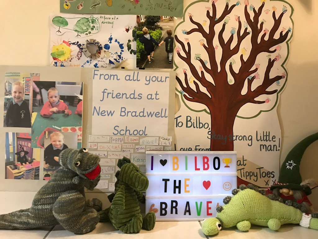 wall of love, godberstravel, #Donate4Bilbo, Bilbo, childhoodcancer, cancer, leukemia, CLICSargent, giveblood, gofundme, bilbosjourney, our new normal,