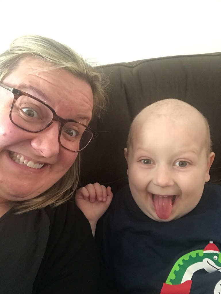 godberstravel, #Donate4Bilbo, Bilbo, childhoodcancer, cancer, leukemia, CLICSargent, giveblood, gofundme, bilbosjourney, our new normal, Christmas 2018, Santa, Godber Selfies