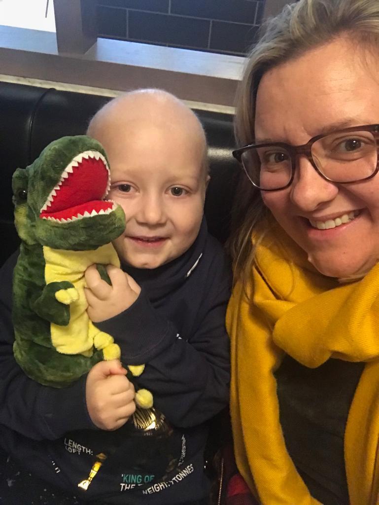 godberstravel, #Donate4Bilbo, Bilbo, childhoodcancer, cancer, leukemia, CLICSargent, giveblood, gofundme, bilbosjourney, our new normal, dinosaur