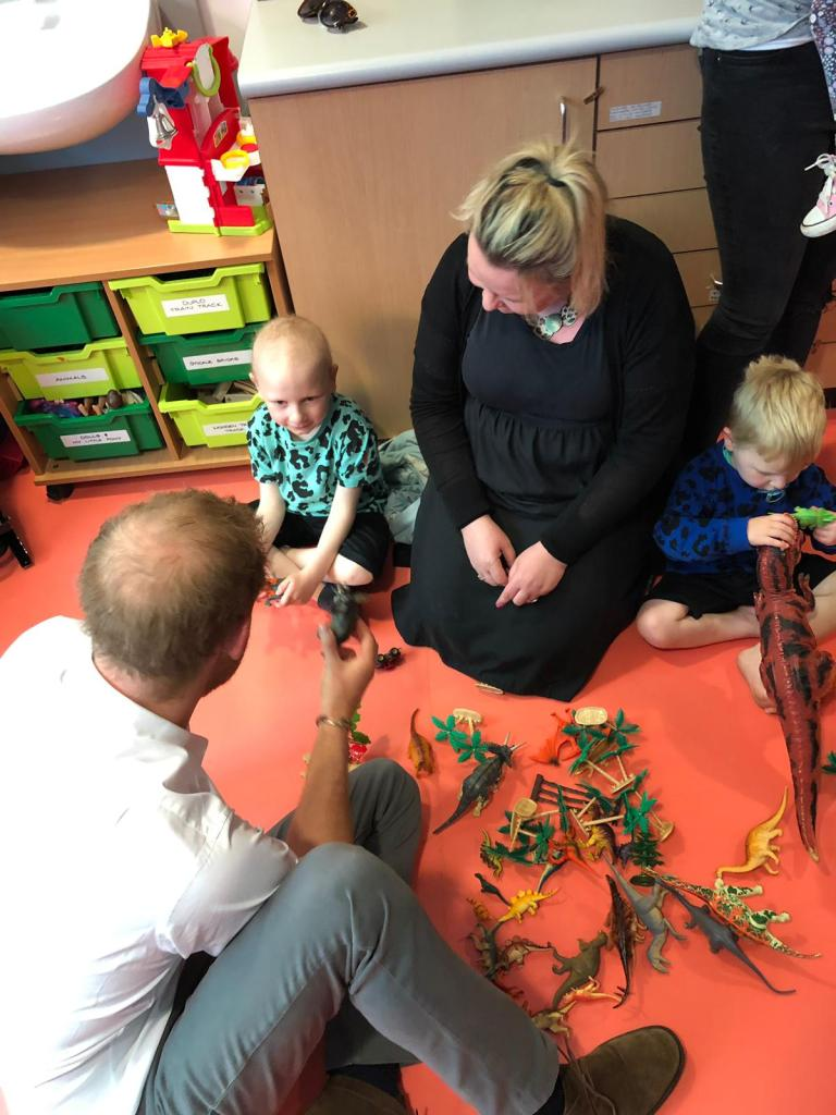 #donate4bilbo, bilbosjourney, childhoodcancer, godberstravel, leukaemia, leukemia, prince harry, Prince Harry Oxford, Prince Harry Playing with Dinosaurs